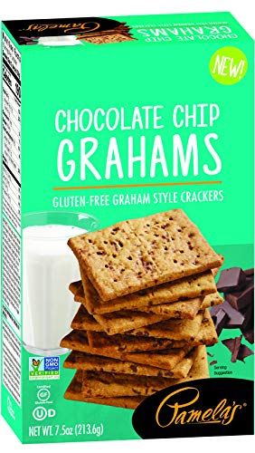 Pamela's Gluten-Free Chocolate Chip Graham Crackers, 7.5 OZ (1)