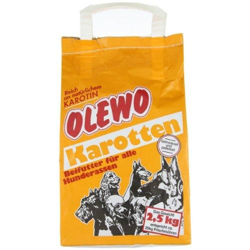 Olewo Karotten 2,5kgs | Zanahoria Deshidratada Para Perros o Gatos