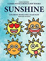 Coloring Book for 2 Year Olds (Sunshine)