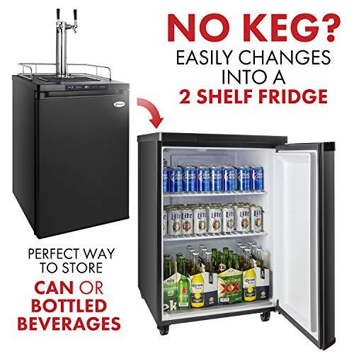 Kegco HBK309B-2 Keg Dispenser