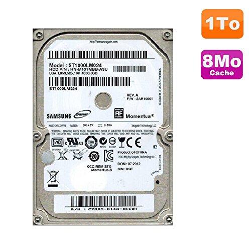 Samsung ST1000LM024 - Disco duro portátil (1 TB, SATA de 2,5 pulgadas, 8 MB)
