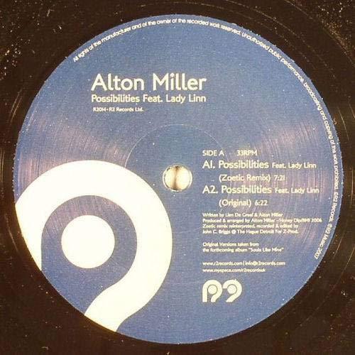 Alton Miller Feat. Lady Linn - Possibilities - R2 Records - R2014