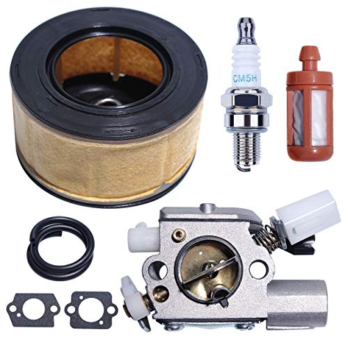 Mtanlo Carburetor Carb Air Filter Maintenance Kit for Stihl MS251 MS251C MS241 MS241C MS231 MS231C Chainsaw Parts 1143 120 0617 Zama C1Q-S233