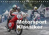 Motorsport Klassiker (Tischkalender 2022 DIN A5 quer): Motorsport Klassiker aus den Jahren von 1932 bis 1986 (Monatskalender, 14 Seiten )