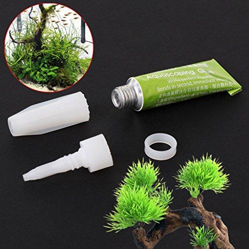 FURU Aquarienkleber Moos Wasserpflanzen Kleber für Aquarien Korallenriffe Kleber für Verzierungen