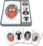 Studio Oh! Note Card and Sticker Set Available in 6 Designs, Marissa Redondo Woodland Creatures, Box...