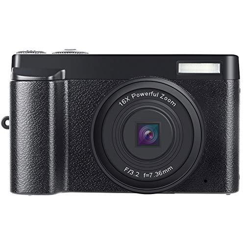 超小型カメラ、小型カメラ 2400Wピクセル 1080P ビギナーのレベル ミニ HD デジカメ 一眼レフカメラ のために 写真術 ティーンズ 女の子 贈り物