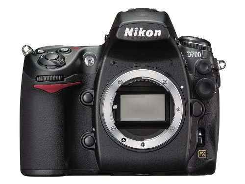 Nikon D700 SLR-Digitalkamera (12 Megapixel, Live View, Vollformatsensor) Gehäuse