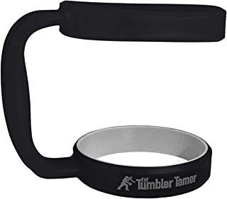 Handle for Yeti Rambler 30 Oz - The Tumbler Tamer - fits Ozark Trail SIC Thermik & many others - Black Ice