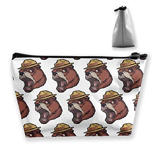 Bolsa de aseo para mujer y niña, suave, bolso de mano, mini monedero, bolsos de maquillaje, bolsas de perro salchicha, color blanco