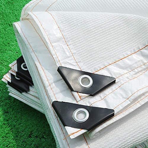 ZXL schaduw doek 90% Zonnescherm Mesh Net Ademend met Grommet voor Pergola Canopy Garden Outdoor (Kleur: Wit, Maat : 13.1x32.8ft) 13.1x13.1ft Kleur: wit