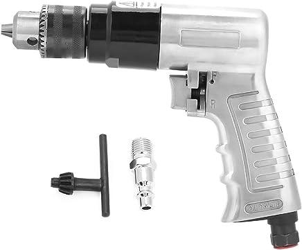 Akozon - Taladro neumático reversible, herramienta de rotación de aire de 3/8 pulgadas 1700 rpm con alta velocidad para perforación de agujeros