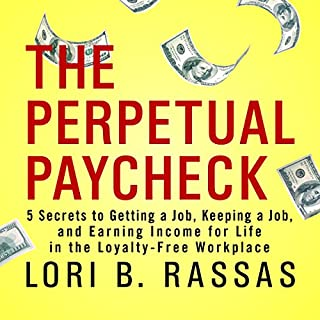 The Perpetual Paycheck audiobook cover art
