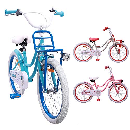 AMIGO - Superstar - Bicicletta Bambini - 20'' (per 5-9 Anni) - Blu