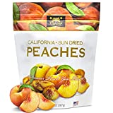 Traina Home Grown California Sun Dried Peaches - Healthy & Non-GMO, Natural Sweet Flavor Fruit No Sugar Added, Perfect Snack In Resealable Pouch (20 Oz)
