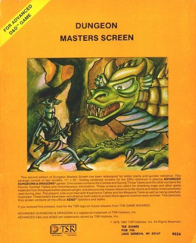 Dungeon Masters Screen