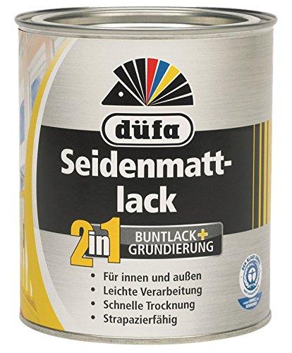Düfa 2in1 Seidenmattlack Reinweiß 2,5 Liter