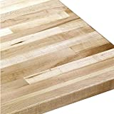 Grizzly Industrial G9915 - Solid Maple Workbench Top 72' Wide x 30' Deep x 1-3/4' Thick