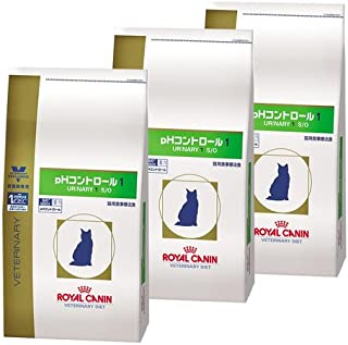 【3袋セット】ロイヤルカナン 食事療法食 猫用 pHコントロール1 ドライ 2kg
