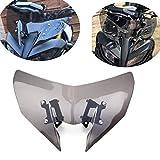 MT09 MT-09 Windschild Motorrad Windschutzscheibe Verkleidungsscheibe Besseren Windschutz für Schutz