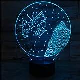 Bob Esponja Luz Nocturna Ilusión Decoración de la habitación Luz Niño Niño Bebé Luz de Noche Lámpara de Mesa de Dibujos Animados Dormitorio