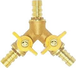 three way fuel line valve
