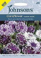 【輸入種子】 Johnsons Seeds Cornflower CLASSLC MAGIC コーンフラワー(矢車菊) クラシックマジック ジョンソンズシード
