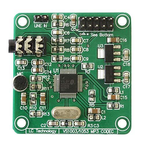 Fanuse VS1053 MP3 Modul Entwicklungs Karte mit Integrierter SPI Schnittstelle für Aufnahme Funktionen