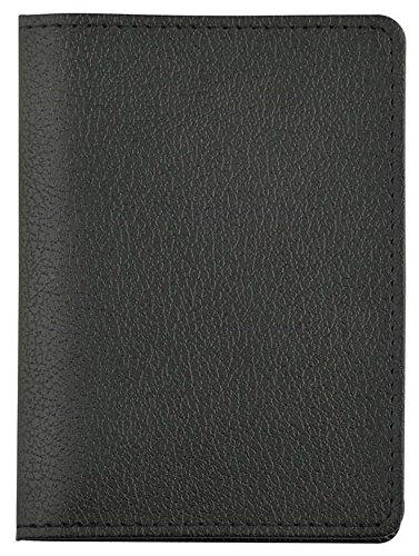KFZ MAPPE FÜHRERSCHEIN AUSWEISHÜLLE FAHRZEUGSCHEIN REISEPAß Kreditkarte SCHWARZ 356