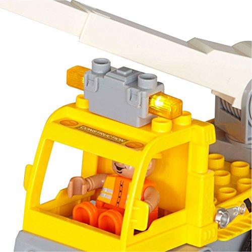 RC Auto kaufen Baufahrzeug Bild 4: Revell Control Junior RC Car Kranwagen - ferngesteuertes Baufahrzeug mit 27 MHz Fernsteuerung, kindgerechte Gestaltung, ab 3, zum Bauen und Spielen, mit Spielfigur, LED-Blinklichtern - 23002*