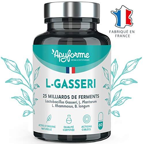 Probiotique Minceur Lactobacillus Gasseri • 25 Milliards d'UFC avec 2g/j • Gélules Gastro-Résistantes • Complément...