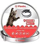 Fleebs Cat Collar for 8-Month Validity Period Adjustable Collars for Cat Kitten Collar Fits All Cats Pet Supplies