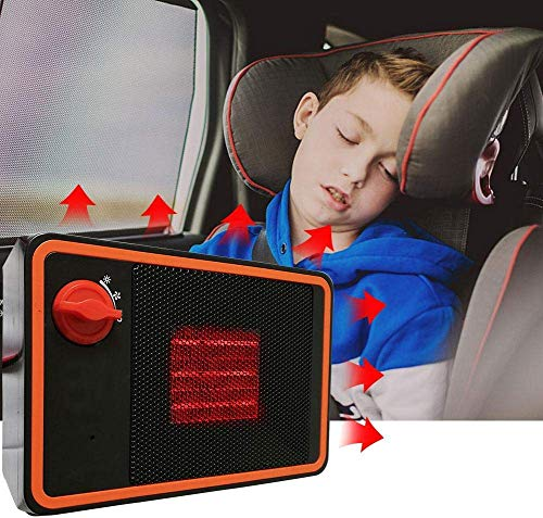 Riscaldatore dell'automobile, Veicolo Stufa Elettrica, 24V 350W Auto Riscaldamento Rapido Sbrinare Sbrinamento Parabrezza Demister Senza Rumore