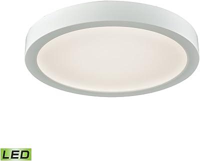 df3876e262044 NEW Round Flush Mount Thin Ceiling Light