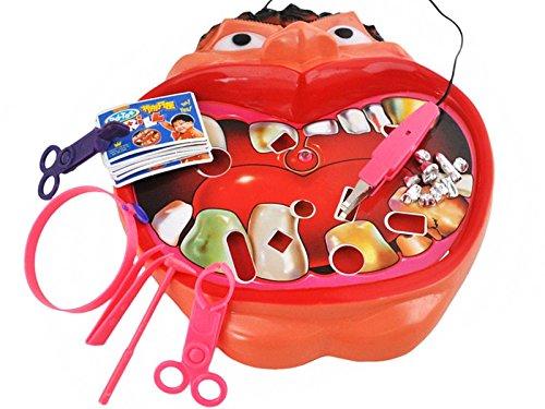 ISO TRADE Juego Dentista · 25x23,5 cm · 300 g · Edad: 3+ · excelente para el Desarrollo motórico, la Habilidad · enseña la Paciencia y la Responsabilidad · #1547
