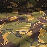 10 Meter Polyester Flecktarn DPM England UK Camouflage