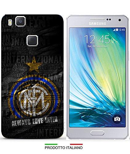 Cover Calcio Inter per iPhone 3G 4S 5S 5C 6 6Plus 7 8 Plus X Huawei P6 P8 Lite P8 Lite 2017 P9 Lite P10 Lite P20 Lite per SPECIFICARE Il Modello Desiderato Inviare Un Messaggio al Venditore