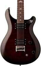 PRS Paul Reed Smith SE 277 Baritone Electric Guitar with Gig Bag, Fire Red Burst