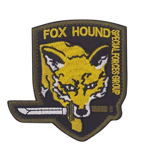 Cobra Tactical Solutions Foxhound Special Force Group Military Besticktes Patch mit Klettverschluss für Airsoft Paintball für Taktische Kleidung Rucksack