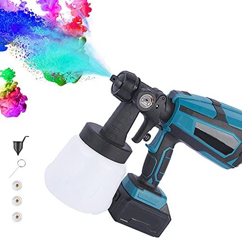 Rociador de Pintura eléctrico,1000ml Pistola de Pintura eléctrica para Paredes, Pistola de...