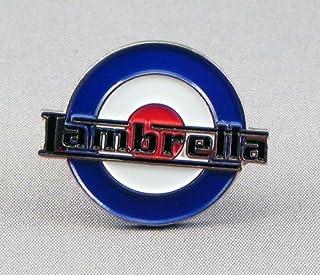 Mainly Metal Metallo Spilla di Smalto Scooter MOD RAF Roundel–Lambretta