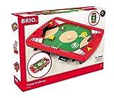 BRIO Spiele 34019 Tischfußball-Flipper – Pinball als Holzspielzeug für Kinder – Kinderspielzeug empfohlen ab 6 Jahren