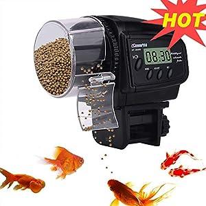 Lychee-Automatischer-Futterautomat-Fische-Futterautomat-mit-LCD-Display-und-Zeitschaltuhr-fr-Aquarium-Fischtank-2019D