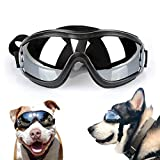 Namsan Dog Goggles - Large Breed Dogs Sunglasses Snow-Proof Waterproof Doggles Sunproof Adjustable Goggles for Medium to Large Dogs