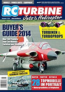 RC Turbine Jets & Helicopter Buyer's Guide 2014 - bilingual German/English