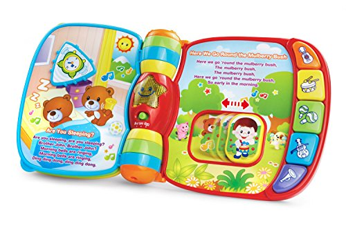VTech Musical Rhymes Book (Frustration Free Packaging), Red
