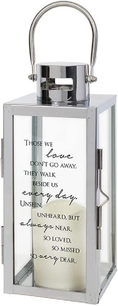 The Bridge Collection Etched Glass with Lantern New item Memorial Flamele Ranking TOP9