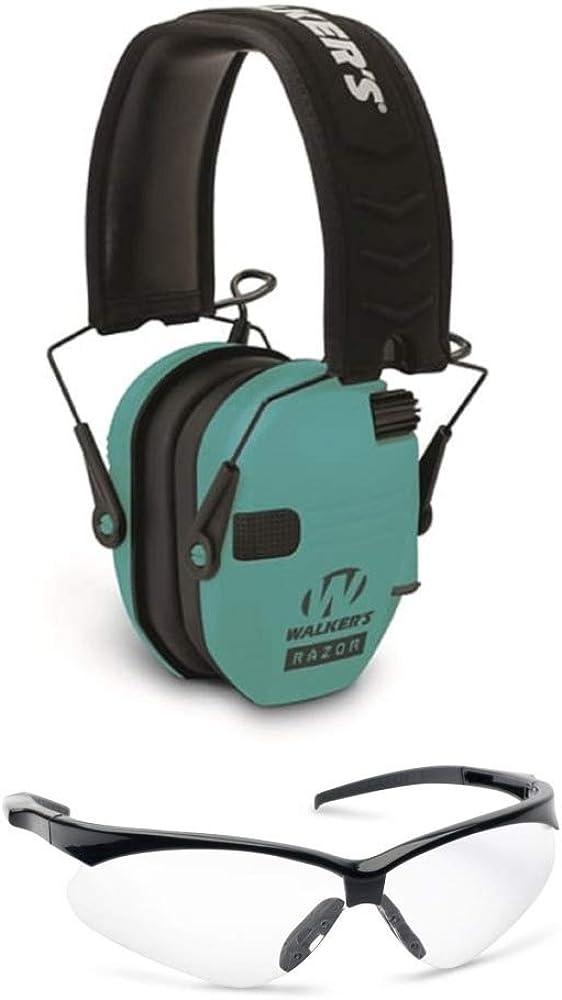 Walkers Razor Slim Electronic Shooting Earmuffs 2021new shipping free shipping 5 ☆ very popular Range Teal Bun