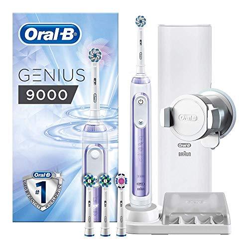 Cepillo de dientes eléctrico recargable Oral-B Genius 9000 alimentado por Braun