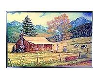1000 PCS自然の風景 パズルの子供の大人の木製パズル - D3